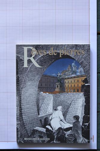 La Tour - Rêves de pierres, F.Schuiten & B.Peeters - Musée Fesch© Maison Autrique, 1987