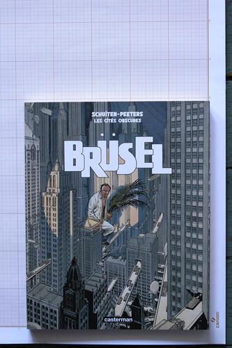 Brüsel, F.Schuiten & B.Peeters - Casterman© Maison Autrique, 2008