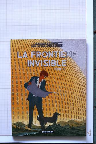 La Fontière invisible - Tome 1, F.Schuiten & B.Peeters - Casterman© Maison Autrique, 2002