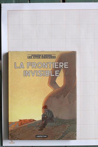 La Frontière invisible, F.Schuiten & B.Peeters - Casterman© Maison Autrique, 2006