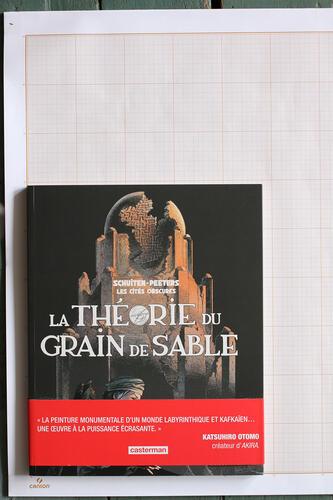 La Théorie du grain de sable, F.Schuiten & B.Peeters - Casterman© Maison Autrique, 2013