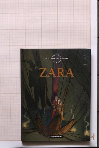 Les Terres creuses : Zara, F.Schuiten & L.Schuiten - Casterman © Maison Autrique, 2010