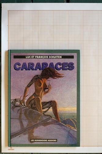 Carapaces, F.Schuiten & L.Schuiten - Humanoïdes Associés© Schuiten, 1986