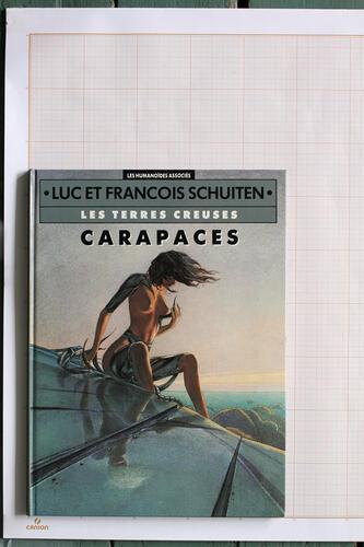 Carapaces, F.Schuiten & L.Schuiten - Humanoïdes Associés© Schuiten, 1989