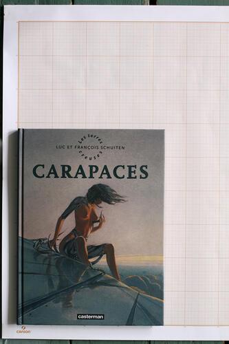 Carapaces, F.Schuiten & L.Schuiten - Casterman© Maison Autrique, 2010