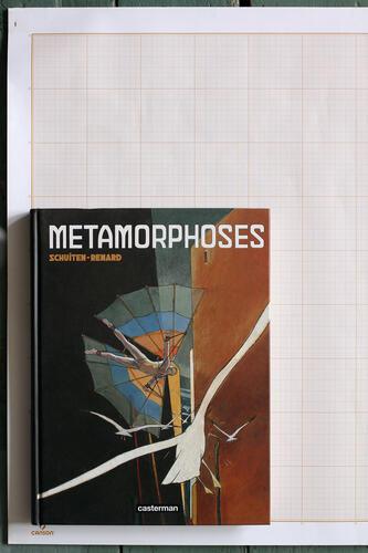 Métamorphoses, F.Schuiten & C.Renard - Casterman© Maison Autrique, 2008