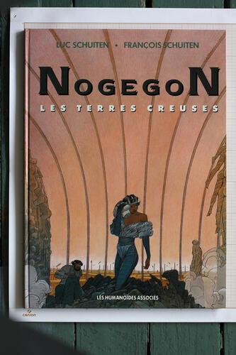 Nogegon, F.Schuiten & L.Schuiten - Humanoïdes Associés© Maison Autrique, 1990
