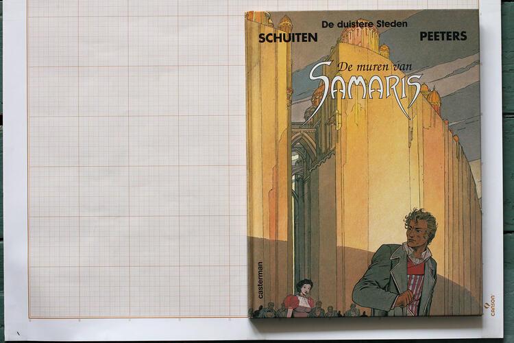 Les Murailles de Samaris, F.Schuiten & B.Peeters - Casterman© Maison Autrique, 2000