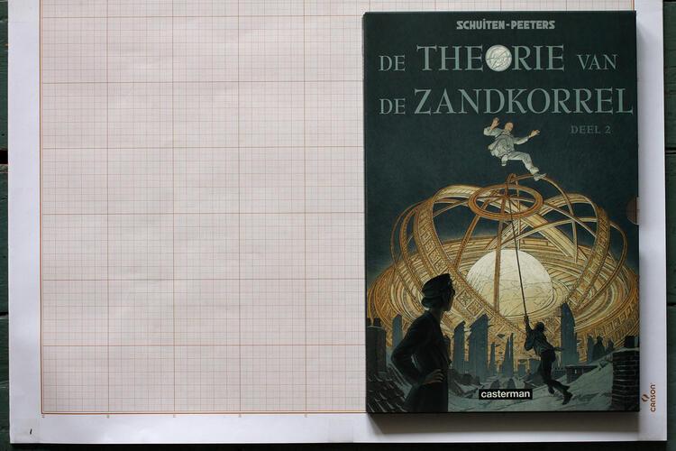 La Théorie du grain de sable, F.Schuiten & B.Peeters - Casterman© Maison Autrique, 2008