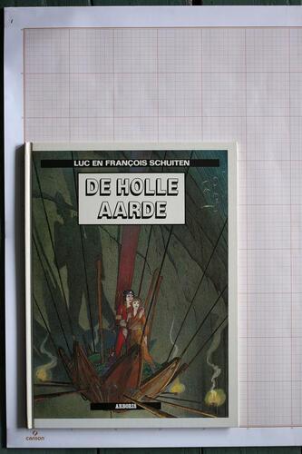 Les Terres Creuses, F.Schuiten & L.Schuiten - Arboris© Maison Autrique, 1986