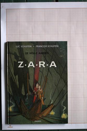 Les Terres creuses : Zara, F.Schuiten & L.Schuiten - Arboris© Maison Autrique, 1986