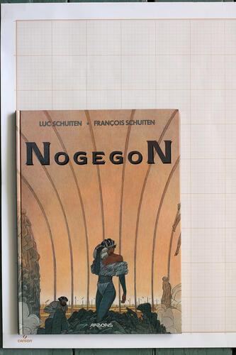 Nogegon, F.Schuiten & L.Schuiten - Arboris© Maison Autrique, 1990