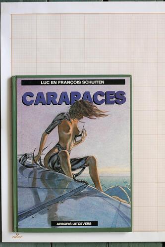 Carapaces, F.Schuiten & L.Schuiten - Arboris Uitgevers© Maison Autrique, 1982