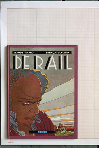 Le Rail, F.Schuiten & C.Renard - Arboris© Maison Autrique, 1982