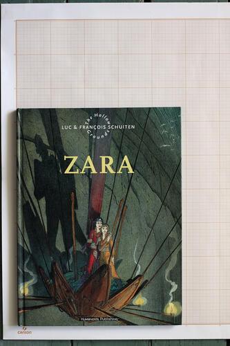 Zara, F.Schuiten & L.Schuiten - Humanoids Publishing© Maison Autrique, 2001
