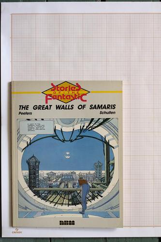 The Great walls of Samaris, F.Schuiten & B.Peeters - Nantier Beall Minoustchine© Maison Autrique, 1987