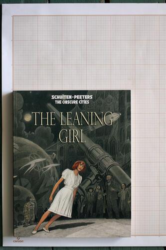 The Leaning girl, F.Schuiten & B.Peeters - Alaxis Press© Maison Autrique, 2014