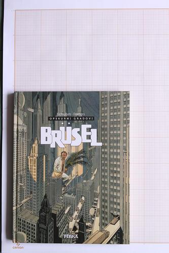 Brüsel, F.Schuiten & L.Schuiten - Fibra© Maison Autrique, 2014