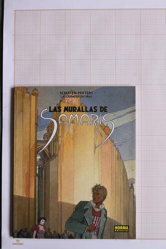 Las Murallas, F.Schuiten & B.Peeters - Norma Editorial© Maison Autrique, 2015