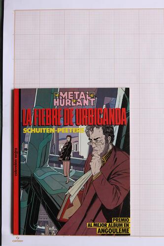 La Fiebre de Urbicanda, F.Schuiten & B.Peeters - Metal Hurlant - Coleccion Negra - Eurocomic© Maison Autrique, 1985