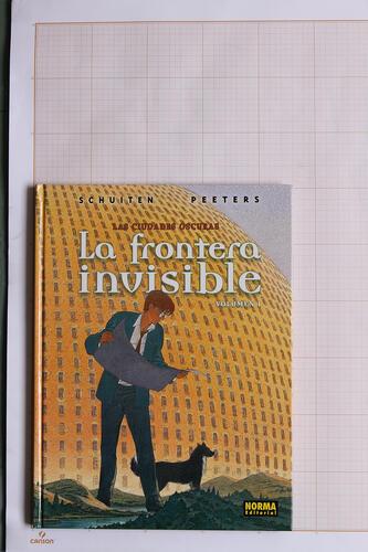 La Frontera invisible - volumen 1, F.Schuiten & B.Peeters - Norma Editorial© Maison Autrique, 2002