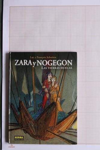 Las Tierras huecas : Zara y Nogegon, F.Schuiten & L.Schuiten - Norma Editorial© Maison Autrique, 1991