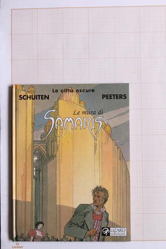 Le Mura di Samaris, F.Schuiten & B.Peeters - Lizard Edizioni© Maison Autrique, 2002