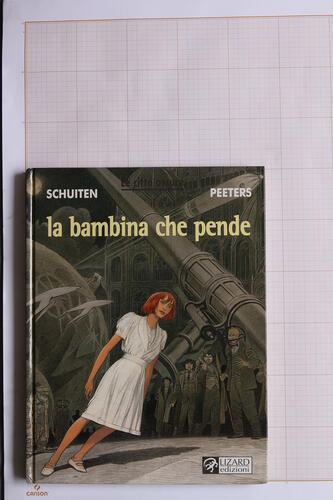 La Bambina che pende, F.Schuiten & B.Peeters - Lizard Edizioni© Maison Autrique, 2005