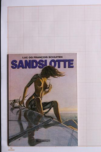 Sandslotte, F.Schuiten & L.Schuiten - Bogfabrikken© Maison Autrique, 1988