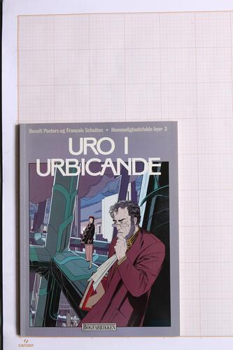Uro i Urbicande, F.Schuiten & B.Peeters - Bogfabrikken© Maison Autrique, 1987