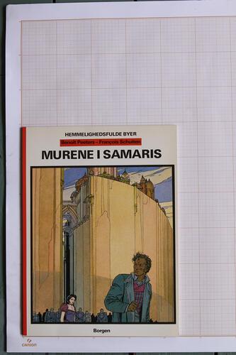 Murene i Samaris, F.Schuiten & B.Peeters - Borgen© Maison Autrique, 1984