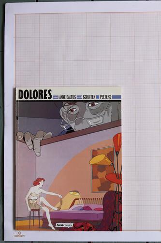 Dolores, A. Baltus, F.Schuiten & B.Peeters - FeestComics© Maison Autrique, 1992