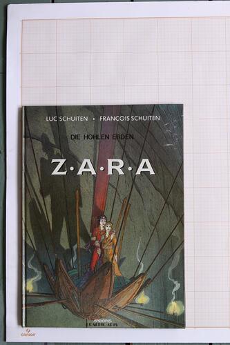 Die Hohlen erden Zara, F.Schuiten & L.Schuiten - Arboris Graphic-Arts© Maison Autrique, 1991