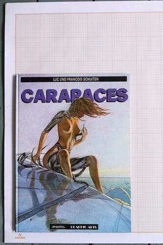 Carapaces, F.Schuiten & L.Schuiten - Arboris Graphic-Arts© Maison Autrique, 1991