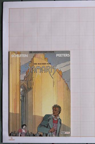 Die Mauern von Samaris, F.Schuiten & B.Peeters - Feest Comics© Maison Autrique, 1992