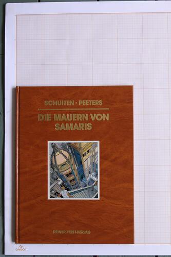 Die Mauern von Samaris, F.Schuiten & B.Peeters - Reiner-Feest-Verlag© Maison Autrique, 1990