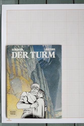 Der Turm, F.Schuiten & B.Peeters - Reiner-Feest-Verlag© Maison Autrique, 1988
