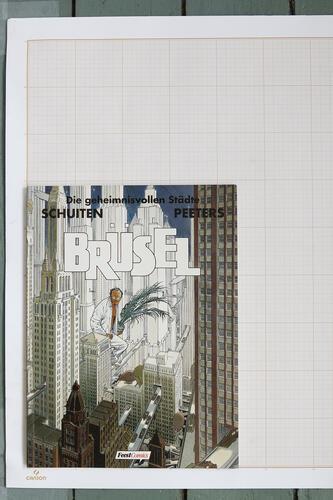Brüsel, F.Schuiten & B.Peeters - Feest Comics© Maison Autrique, 1992