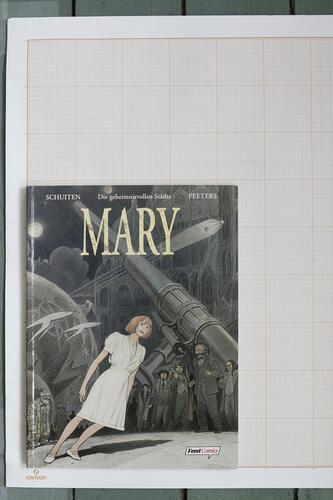 Mary, F.Schuiten & B.Peeters - Feest Comics© Maison Autrique, 1996