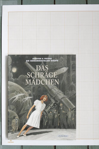 Das Schräge Mädchen, F.Schuiten & B.Peeters - Schreiber & Leser© Maison Autrique, 2017