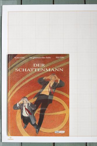 Der Schattenmann, F.Schuiten & B.Peeters - Feest Comics© Maison Autrique, 2000
