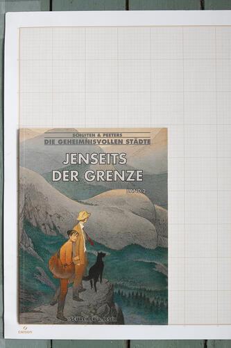 Jenseits der Grenze - Band 2, F.Schuiten & B.Peeters - Schreiber & Leser© Maison Autrique, 2004