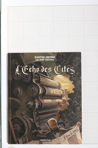 L'Echo des Cités, F.Schuiten & B.Peeters - Casterman© Maison Autrique, 2010