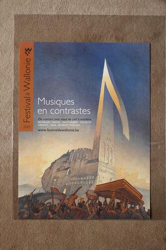 Musiques en contrastes. Festival de Wallonie© François Schuiten, 2005