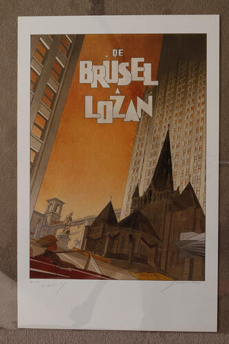 De Brüsel à Lozan© François Schuiten, 1993