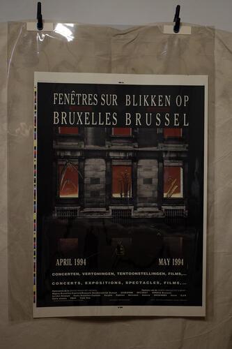Fenêtre sur le tout Bruxelles. Blikken op alle over Brussel.© François Schuiten, 1994