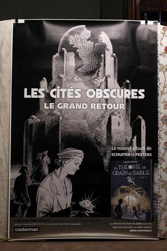 Les Cités Obscures - le grand retour© François Schuiten, 2008