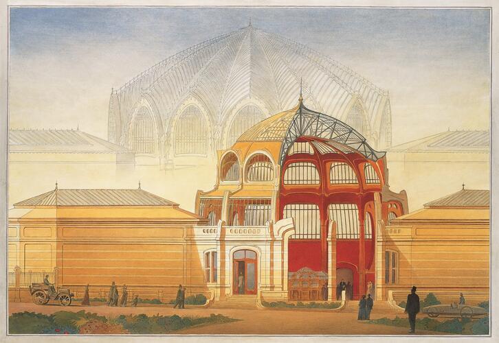 Musée des Beaux-Arts de Tournai© François Schuiten, 1996