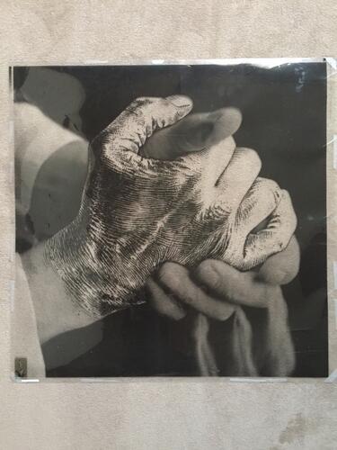 L'Enfant penchée (poignée de mains)© François Schuiten, 1995