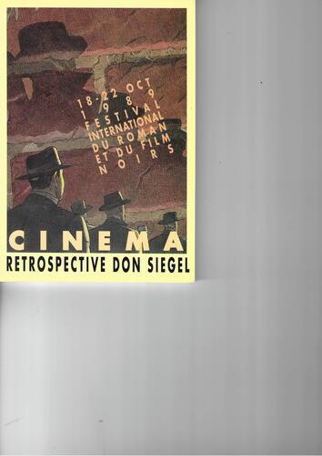 Cinéma, 11e festival international du roman et du film noirs© François Schuiten, 1989